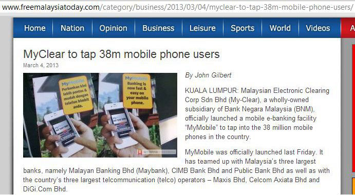 more than 38 million mobile users in Malaysia